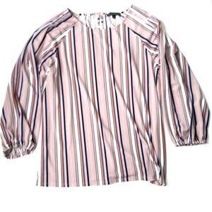 Adrianna Papell Striped Top